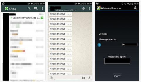 whatsapp spammer